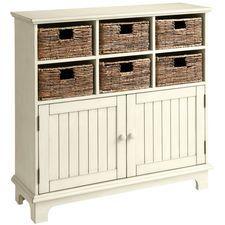 Holtom Cabinet - Antique White