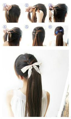 It is HOT today at Onesta and we are loving this way to throw our hair up in a ponytail!