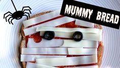 Halloween Mummy Bread