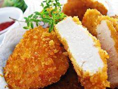 Jak zrobić nuggets'y Fast Food, Food Design, Cornbread, Food And Drink, Rice, Menu, Chicken, Cooking, Ethnic Recipes