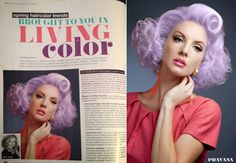 Pravana Chroma Silk Pastels Color's Chomasilk Vivids in Lucious Lavender