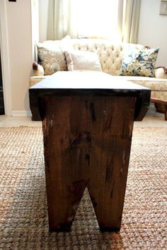 How to Build A Simple Farmhouse Bench for Under $20 - The Creek Line House