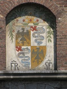 Coat of Arms of Francisco Sforza, Castello Sforzesco, Milan