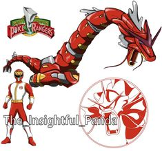 Dino Rangers, Go Go Power Rangers, Mighty Morphin Power Rangers, Pokemon Fusion, Cartoon Art, Bowser, Chibi, Geek Stuff, Pranks