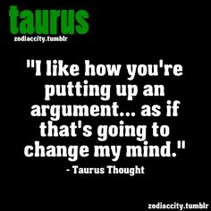 It's True - Taurus Facts