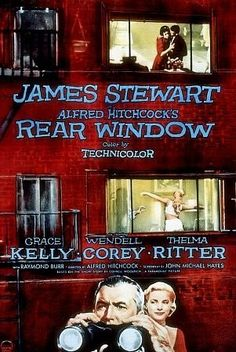Rear Window (1954)  Classics Series@SundanceMadison,  Wed 3/5 at (1:35) & 6:55.