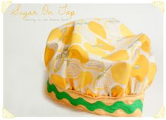 Sugar On Top: Childs Chef's Hat Pattern