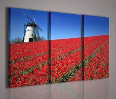 Quadri moderni blown rose quadro moderno xxl stampe su tela ...