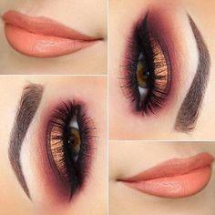 Eye Makeup Tips.Smokey Eye Makeup Tips - For a Catchy and Impressive Look Gorgeous Makeup, Pretty Makeup, Love Makeup, Makeup Inspo, Flawless Makeup, Perfect Makeup, Glam Makeup, Skin Makeup, Beauty Makeup