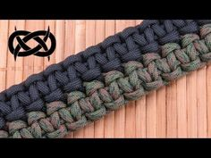 How to make a Mated Solomon Bars Paracord Bracelet - YouTube