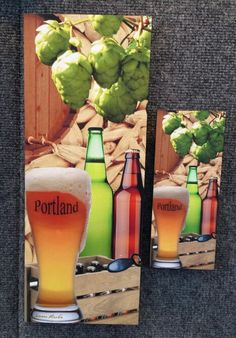 After your visit of the Brewers Fest at Portland Waterfront come next door to Portland Saturday Market and have a LOOK at our beer.  Mesman Images row 200 near the food court