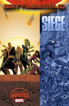 """I've been teasing this for a while, but here's my project during Secret Wars. It's called SIEGE and here's the first interview about it. Basically - the Night's Watch from Game of Thrones, but recruited from the whole Marvel Multiverse, and an even harder task.The cast? Here's a quote…""""There's Abigail Brand. The main difference [from the S.W.O.R.D. series] is that she's considerably older; 39 or so. There's Leah of Hel, who is basically a twin-blade warlock Red Sonya character in a full…"""
