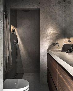 Bathroom tiles light grey vanities Ideas for 2019 Modern Bathroom Decor, Boho Bathroom, Bathroom Interior Design, Contemporary Toilets, Dream Bath, Scandinavian Home, Amazing Bathrooms, Bathroom Inspiration, Decoration