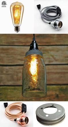 DIY Mason Jar Lights: 25 Best Tutorials, Kits, & Supplies - A Piece Of Rainbow