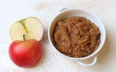 Eplesyltetøy søta med dadler. Scones, Panna Cotta, Dessert, Apple, Fruit, Snacks, Food, Caramel, Apple Fruit