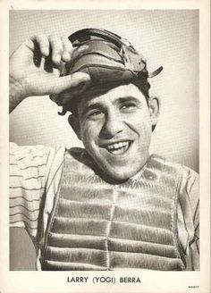 "Happy Birthday, May 12th.  Lawrence Peter ""Yogi"" Berra (May 12, 1925) Hall of Fame Catcher, Outfielder, Manager for the Yankees and Mets 1946 - 65. ""90% of the game is half mental."""