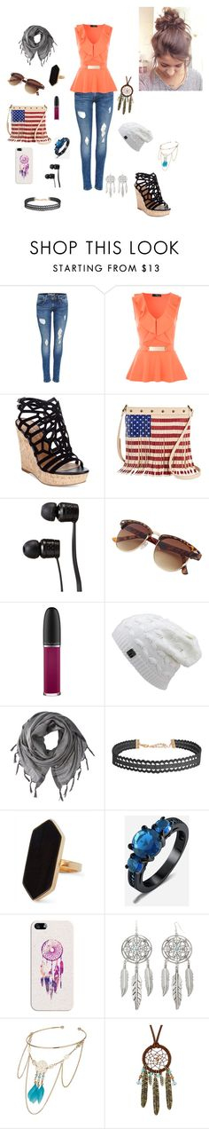 """First day of school"" by rebelcountrygirl ❤ liked on Polyvore featuring Charles by Charles David, TWIG & ARROW, Vans, MAC Cosmetics, Love Quotes Scarves, Humble Chic, Jaeger, Casetify, Arizona and Miss Selfridge"