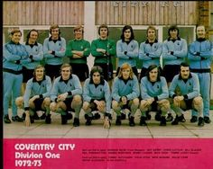 Coventry City Football Club Season Some great players in that squad. Team Pictures, Team Photos, Chelsea United, Coventry City Fc, Photographs And Memories, Fa Cup, Blues, Football, Seasons