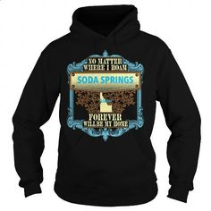 Soda Springs in Idaho - #sweaters #graphic t shirts. BUY NOW => https://www.sunfrog.com/States/Soda-Springs-in-Idaho-Black-Hoodie.html?60505