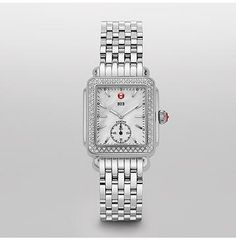 MICHELE® Deco Deco 16: Deco 16 Diamond MWW06V000001: Propose to me with this watch, not a diamond ring. For real though.