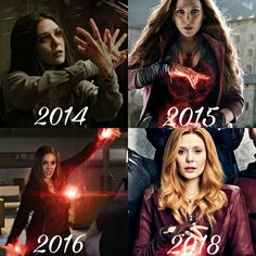 Scarlet Witch evolving into the badass that she is