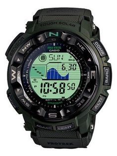 Casio Protrek PRG-250B-3 Solar Power Watch