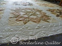 Kay Bell at Borderline Quilter: Swoon Quilt