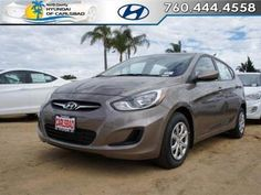 2013 Hyundai Accent GS Hatchback at North County Hyundai of Carlsbad