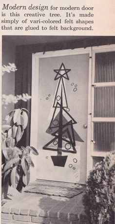 Absolutely fantastic. I think my wreath might be taking a break this year. >>> Christmas Ideas for 1957