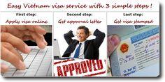 Please follow steps below to get Vietnam visa with our Vietnam visa service