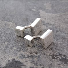 These hand crafted Square Geometric Silver Cufflinks typify the Otis Jaxon aesthetic: understated, refined, casual, and a contemporary classic! #Otisjaxon #Jewellery