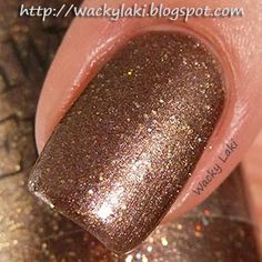 """@Tawdry Terrier """"Harvest Moon Possum Hunt"""" - Check out swatches and a #review of @Tawdry Terrier polishes by @Wacky Laki: http://wackylaki.blogspot.com/2013/09/tawdry-terrier-autumn-in-barkshires.html.  These polishes are now available at http://www.etsy.com/shop/TawdryTerrier #nailpolish #indienailpolish #tawdryterrier #wackylaki"""