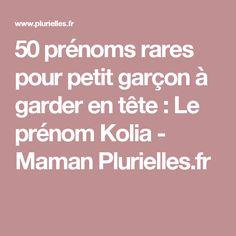 50 prénoms rares pour petit garçon à garder en tête : Le prénom Kolia - Maman Plurielles.fr