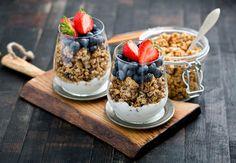 Ready. Healthy. Go: granola- Menshealth.nl