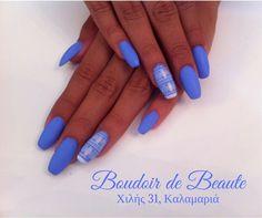 Like a Blue Monday... #blue #monday #nailswag #nailsalon #kalamaria #skg #thessaloniki #beautysalon #beauty #naildesign #nailpolish #boudoirdebeaute #boudoir_de_beaute #manicure #nails_greece #nailsoftheday #nailporn #nailaddict #nailart