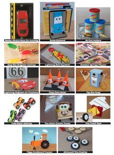 Disney-Pixar Cars Activities Round Up!