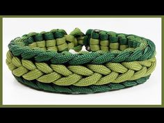 "Paracord Bracelet Instructions: ""Marginal Herringbone Endless Falls"" Bracelet Design Quick Cut - YouTube"