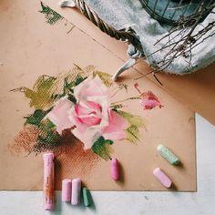 pastel artist Elena Tatkina