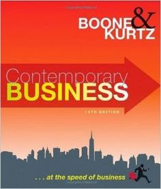 Free download or read online Contemporary Business business pdf book by By Louis E. Boone, About the basic business guidelines & integrated E-Business context.