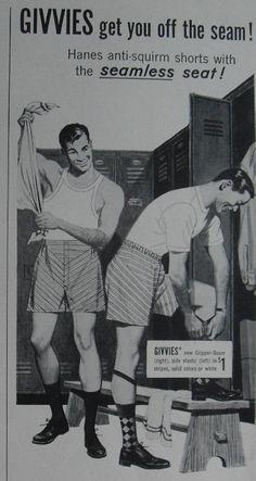 Vintage Underwear Ads