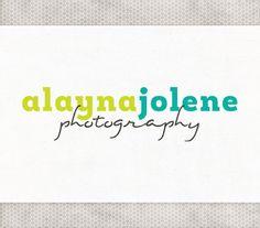 Premade Logo Design | Photography Logo | Website Branding | Custom Logo Design | Simple Logo Design | Blog Logo