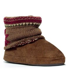 Look what I found on #zulily! Aged Rope Patti Slipper Boot by Heritage Collection by MUK LUKS #zulilyfinds