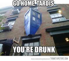 Get it together, TARDIS.