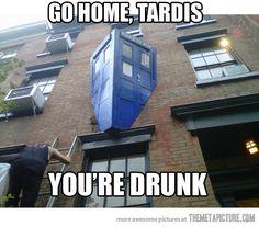 Get it together, TARDIS.