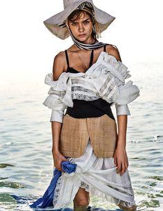 Publication: Vogue Germany June 2017 Model: Josephine Skriver Photographer: Giampaolo Sgura Fashion Editor: Christiane Arp Hair: Franco Gobbi Make Up: Jessica Nedza