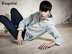 Kim Soo Hyun - Esquire Magazine March '14