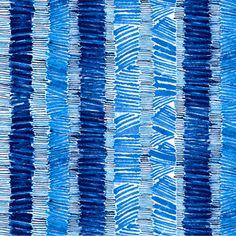 P & B Textiles House Designer - True Blue - Stack Stripe in Blue