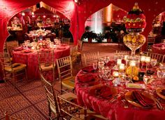 David Tuterau0027s Red And Gold Wedding | With These Ideas You Will Be  Indulging Your Guests