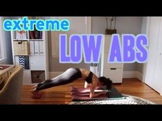 Extreme Low Abs Workout --- Lauren Hefez is just AMAZING!!! I love her videos!!!