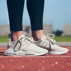 Adidas NMD in Talc/Cream.Womens size these run a half size large and are best for a normal to wide … – Shoes Adidas Nmd R1, Adidas Gazelle, Sneakers Mode, Best Sneakers, Adidas Sneakers, Shoes Sneakers, Sneakers Style, Women's Shoes, Yeezy Shoes